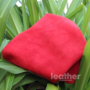 Heavy Nubuck - Red (4)
