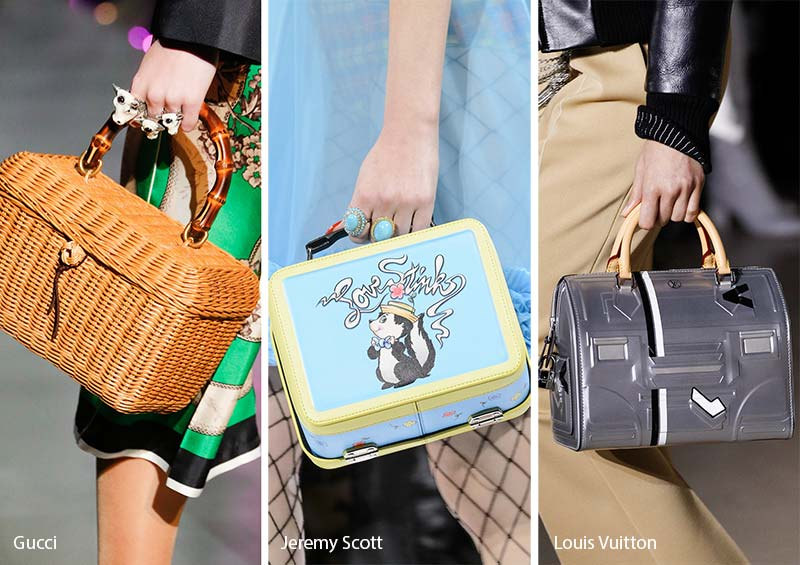 Fall Winter 2017 2018 Handbag Trends Lunch Bags